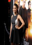Jessica Parker Kennedy Attends JACK RYAN: SHADOW RECRUIT Movie Premiere in Hollywood, January 2014