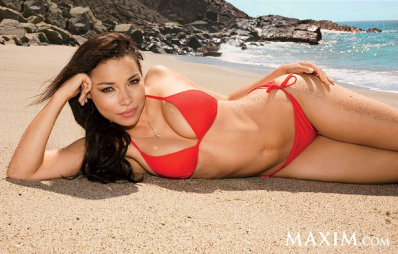 Jessica Parker Kennedy Maxim Magazine February 2014 Issue