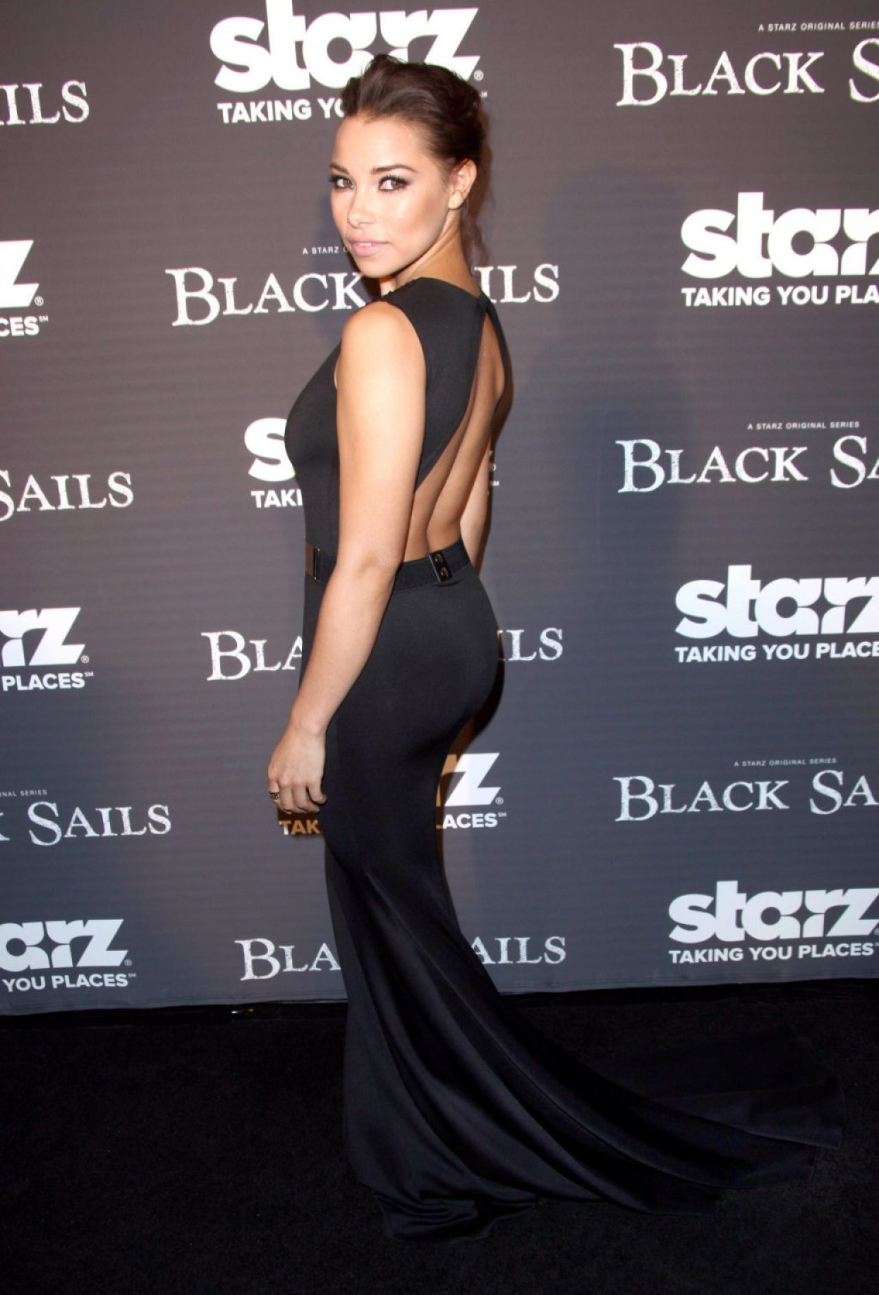 Jessica Parker Kennedy - STARZ BLACK SAILS Screening in Los Angeles - January 2014