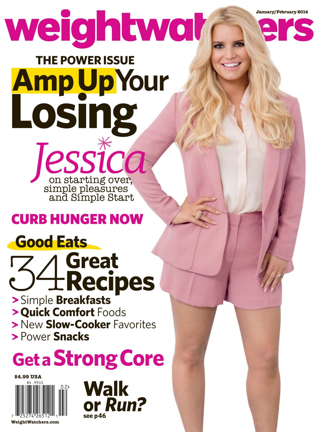 Jessica Simpson - WEIGHT WATCHERS Magazine (USA) - January/February 2014 Issue