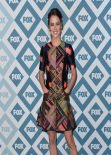 Jessica Stroup Attends 2014 Fox All-Star Party in Pasadena