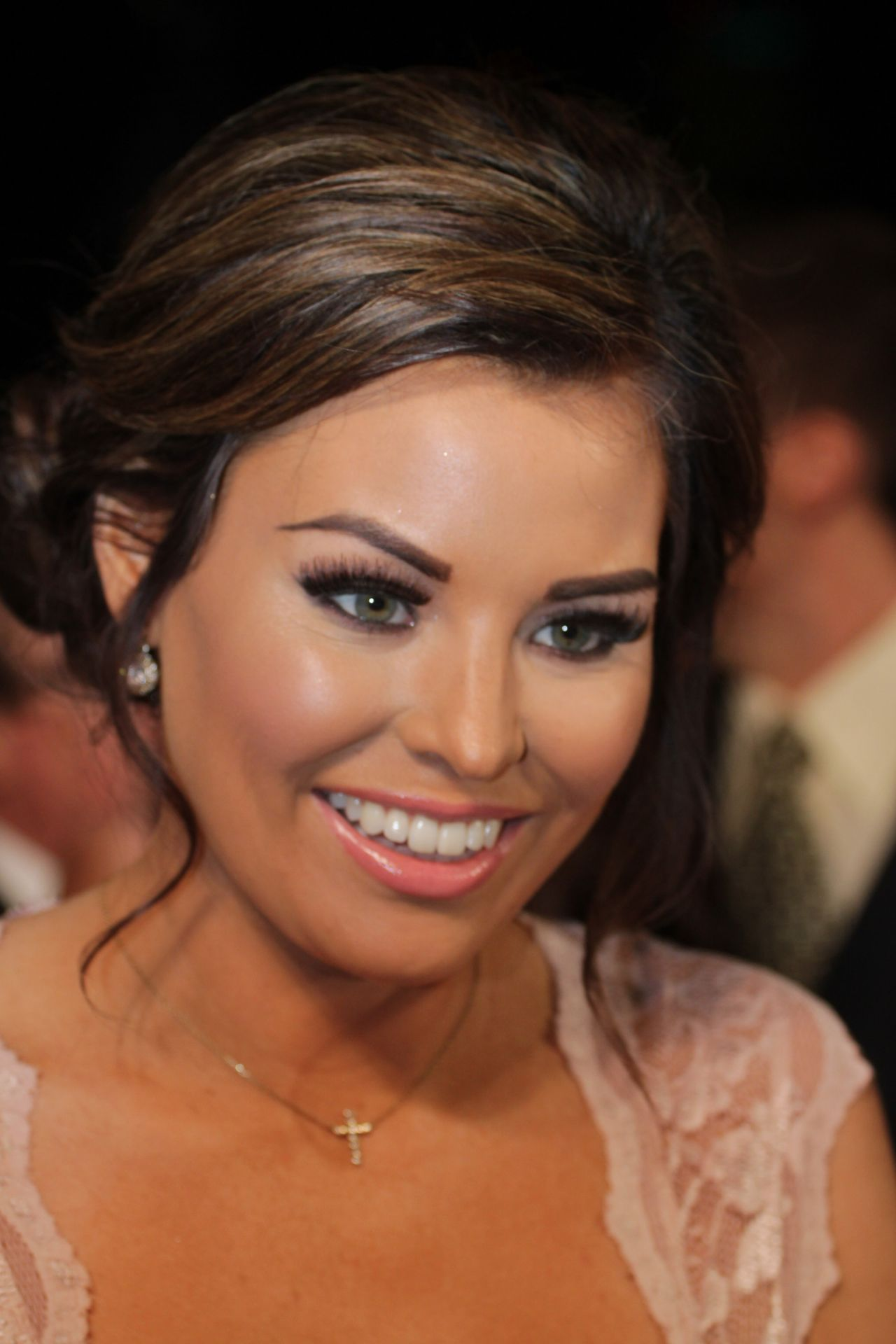 Jessica Wright at NTAs 2014 in London