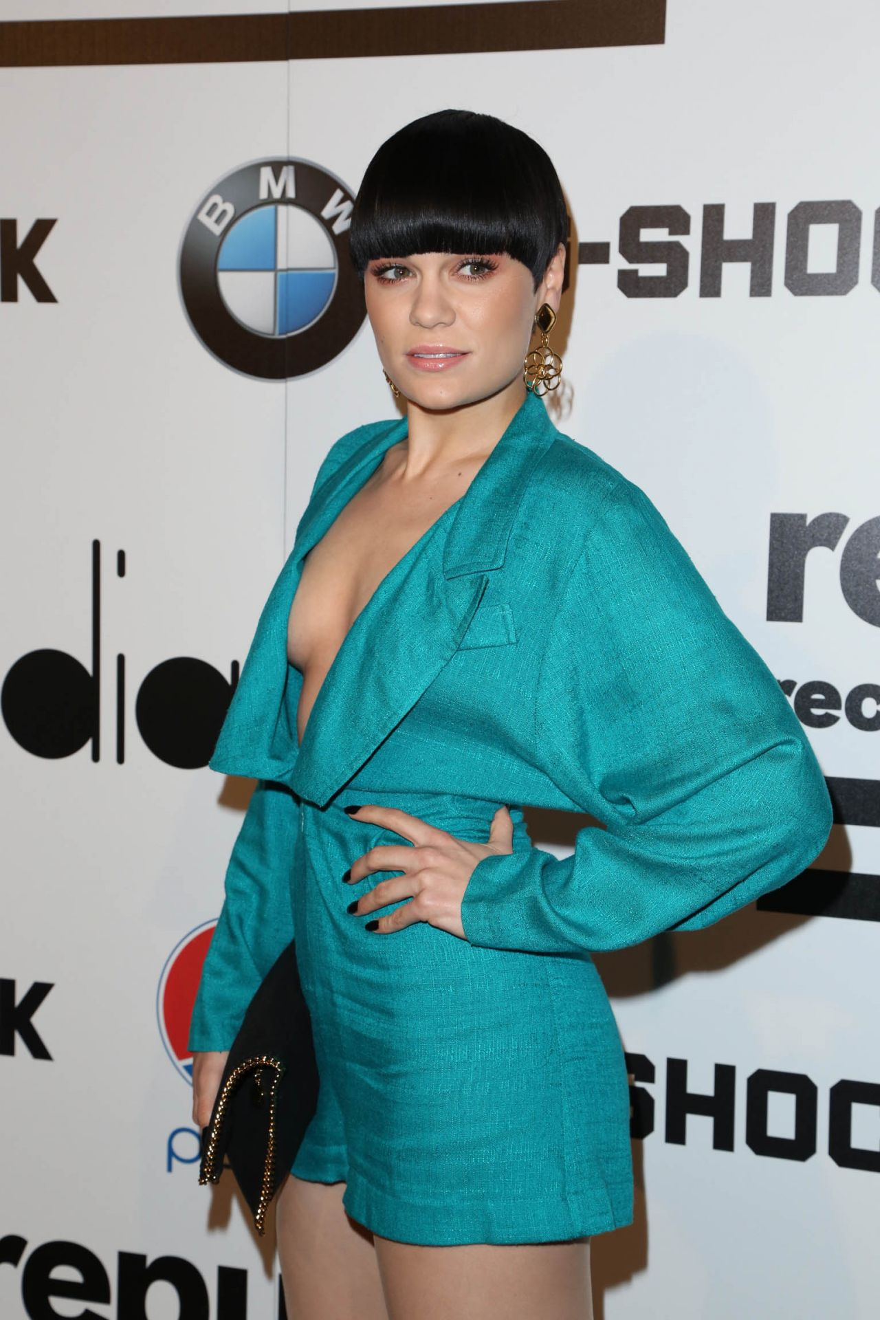 Jessie J At Republic Records Grammy Party In Los Angeles, January 2014