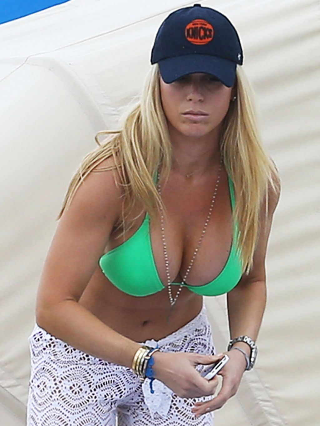 Jill Martin in a Bikini - Miami, December 2013