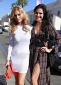 Joanna Krupa and Joyce Giraud
