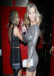 Joanna Krupa in Skintight Dress In West Hollywood - January 2014
