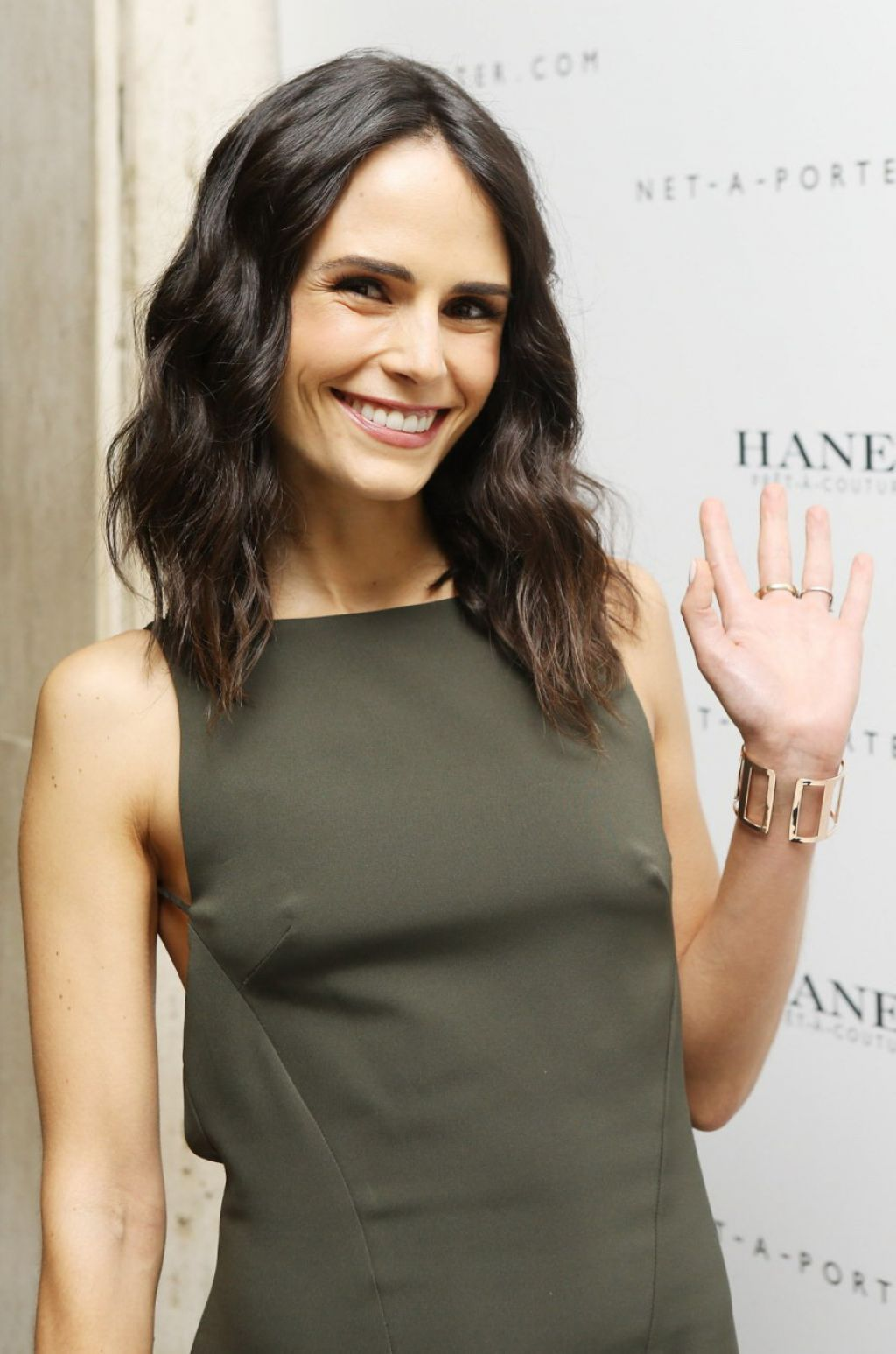 Jordana Brewster Attends Net-A-Porter Hosts Haney Pret-A-Couture Launch