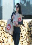 Jordana Brewster - Leaving Whole Foods in Los Angeles