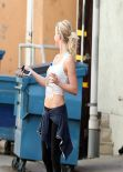Julianne Hough Gym Style - West Hollywood - January 2014