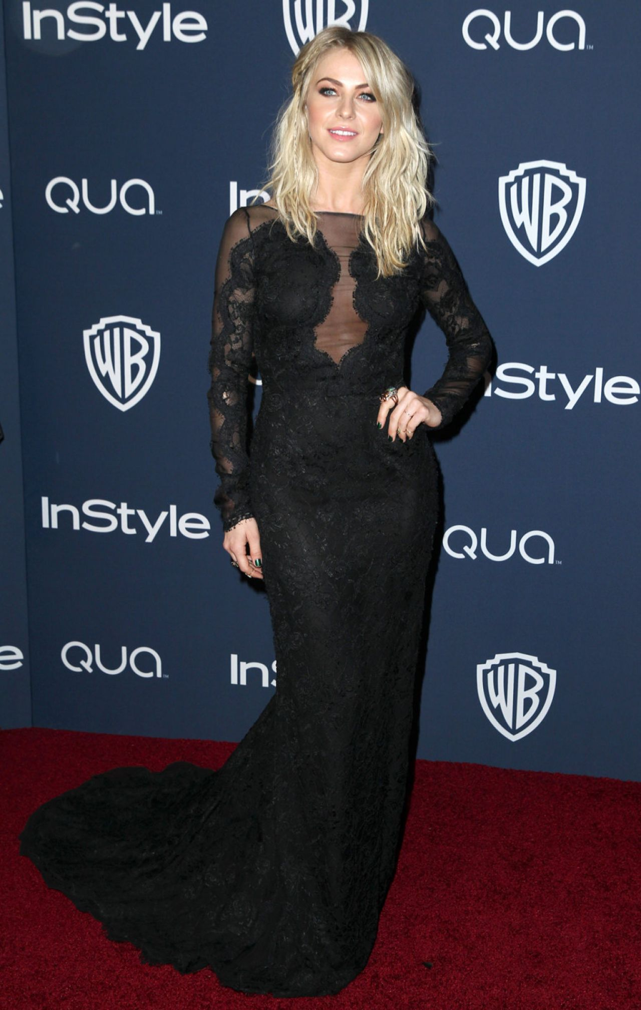 Julianne Hough - InStyle & Warner Bros. Golden Globes After Party - January 2014