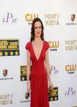 Juliette Lewis Wears Zac Posen Dress at 2014 Critics