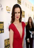 Juliette Lewis Wears Zac Posen Dress at 2014 Critics