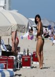 Julissa Bermudez Bikini Candids - Miami, January 2014