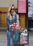Kaley Cuoco in Jeans - Shopping at Gelson