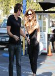 Kate Beckinsale Street Style - Coffee Break in West Hollywood, January 11 2014