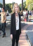 Katherine Heigl - on the Set of Extra - Universal Studios - Jan 2014