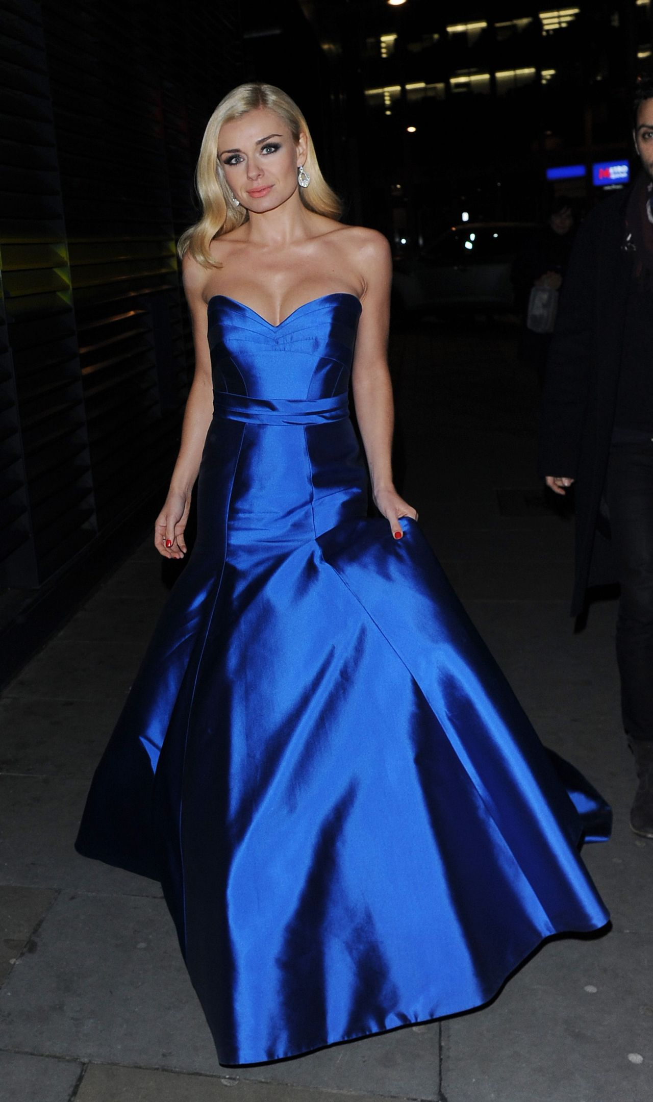 Katherine Jenkins Attends Martell Event at Brasserie Blanc Covent Garden - January 2014
