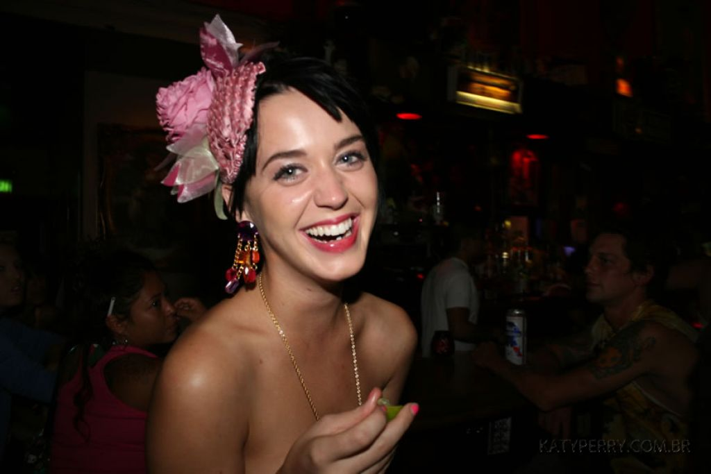 Katy Perry - Party Pics From 2007 Cate Blanchett Magazine