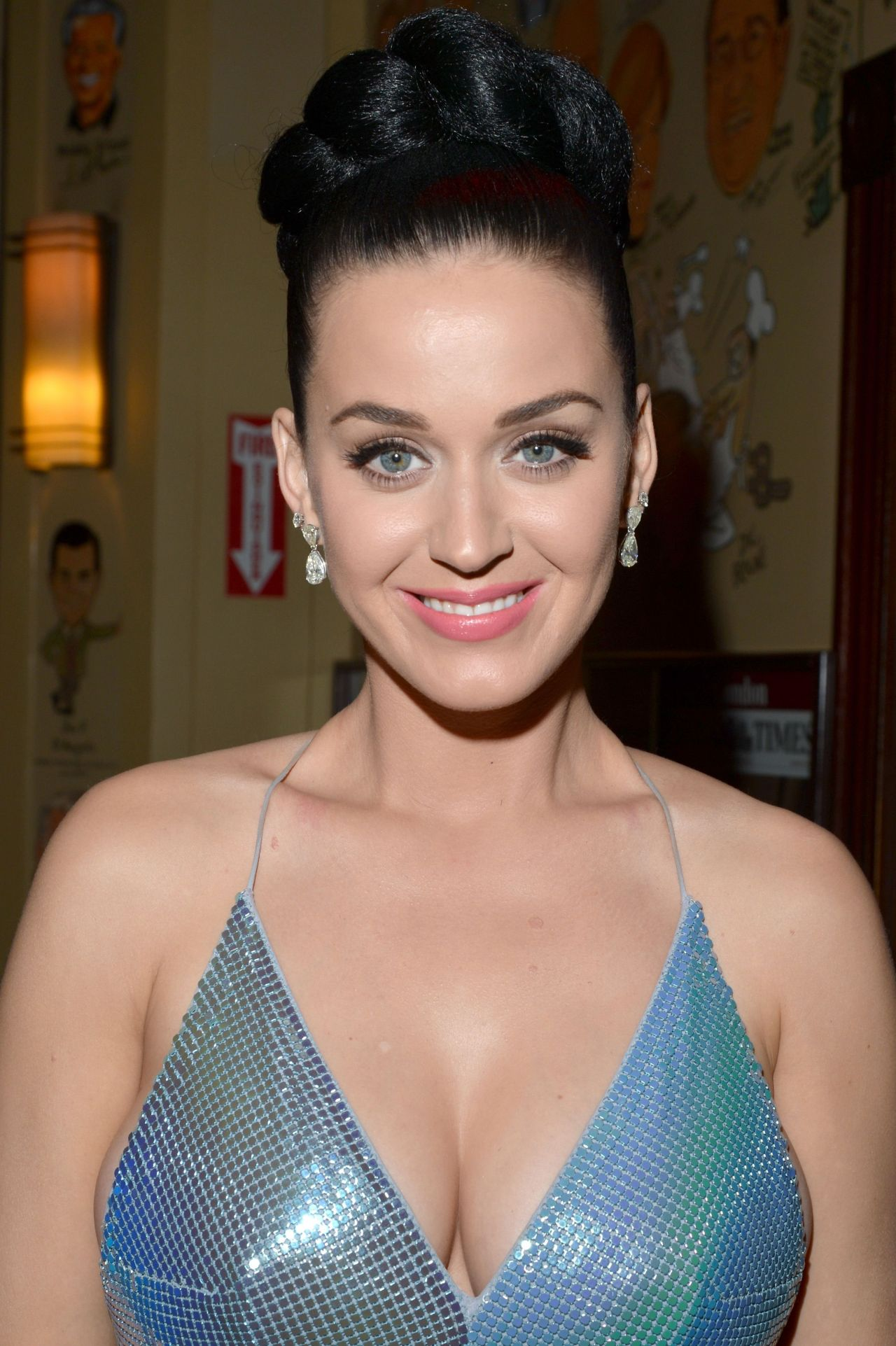 Katy Perry - Sony Music Entertainment Post-Grammy Reception, January 2014