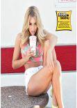 Keeley Hazell - FHM Magazine (UK) - February 2014 Issue