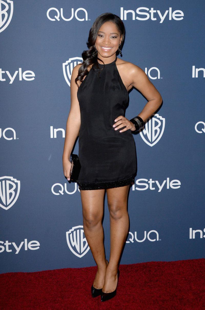 Keke Palmer Rocks Royal Blue on Emmys 2014 Red Carpet ... |Keke Palmer 2014