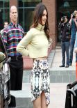 Kendall Jenner Street Style - Outside the E! Entertainment building in Los Angeles - January 2014