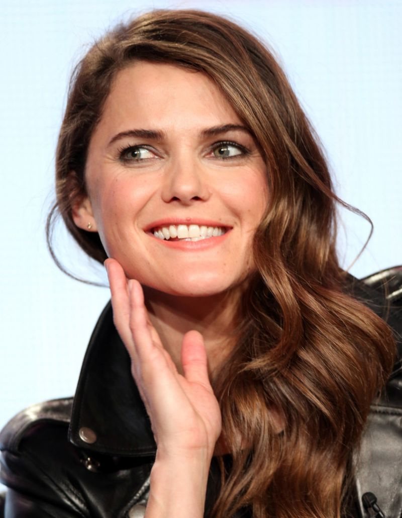 Keri Russell Attends Winter TCA Tour: Day 6 in Pasadena (2014)