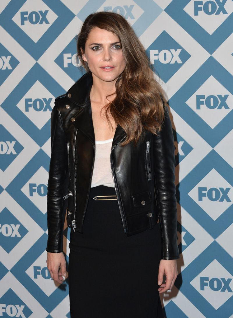 Kerri Russell at 2014 Fox All-Star Party in Pasadena