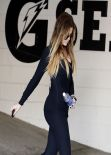 Khloe Kardashian Gym Style - Los Angeles January 2014