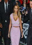 Kim Kardashian - Arriving at Jimmy Kimmel Live! Show - January 2014