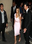 Kim Kardashian - Arriving at Jimmy Kimmel Live! Show - January 2014