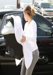 Kim Kardashian Street Style - Goes Shopping on Robertson Blv in Beverly Hills - Jan. 2014