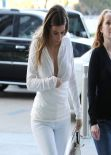 Kim Kardashian Street Style - Plaza Towers in Los Angeles & on Robertson in West Hollywood - Jan. 2014