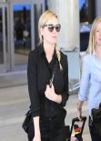 Kirsten Dunst Street Style LAX Airport, January 2014