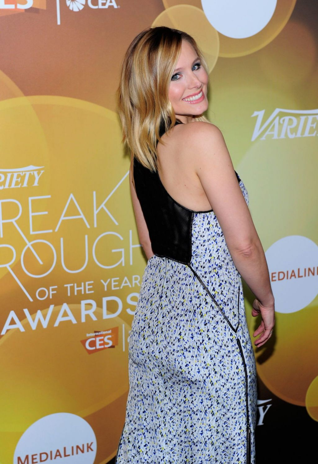 Kristen Bell - 2014 Variety Breakthrough Of The Year Awards in Vegas - Jan. 2014