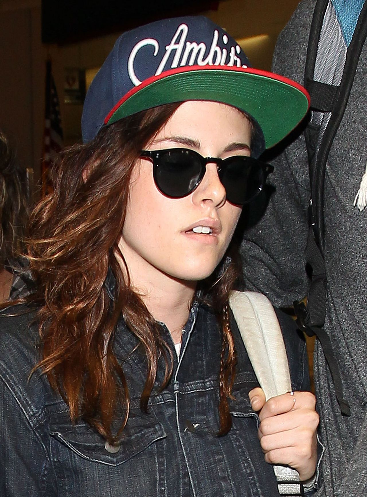 Kristen Stewart at LAX Airport, January 2014