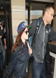 Kristen Stewart at LAX Airport, January 2014