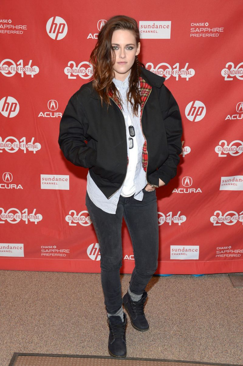 Kristen Stewart Camp X Ray Premiere At The 2014 Sundance