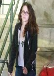 Kristen Stewart in Jeans - Out in Los Angeles - January 2014
