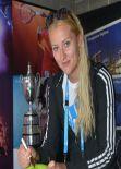 Kristina Mladenovic - Australian Open in Melbourne, Jan 13 2014