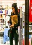 Kylie Jenner Street Style - Late Night Shopping Run, January 2014