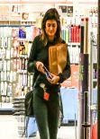 Kylie Jenner Street Style - Late Night Shopping Run, January 2014