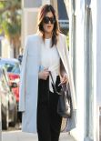 Kylie Jenner Street Style - Leaving Urth Cafe in West Hollywood, January 2014