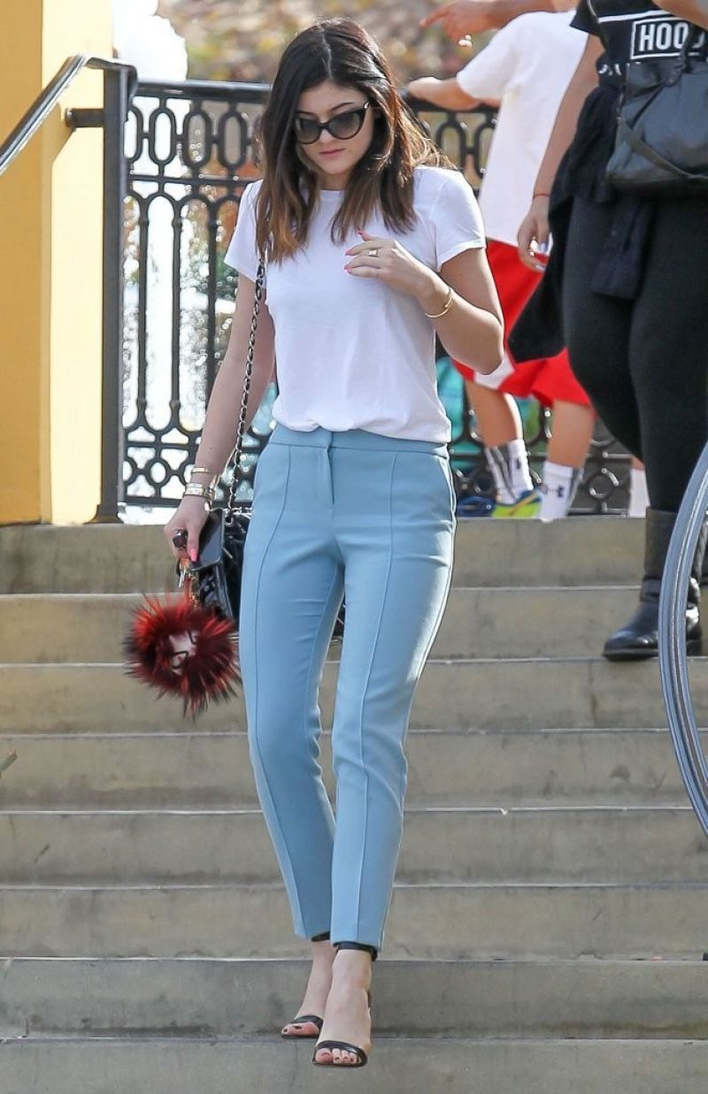 Kylie Jenner Casual Outfits 2014 Kylie Jenner Street St...