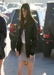Kylie Jenner Style - Leggy in a Skirt and Boots Heading to a Nail Salon - Los Angeles, Jan. 2014