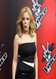 Kylie Minogue - The Voice UK launch in London - January 6, 2013