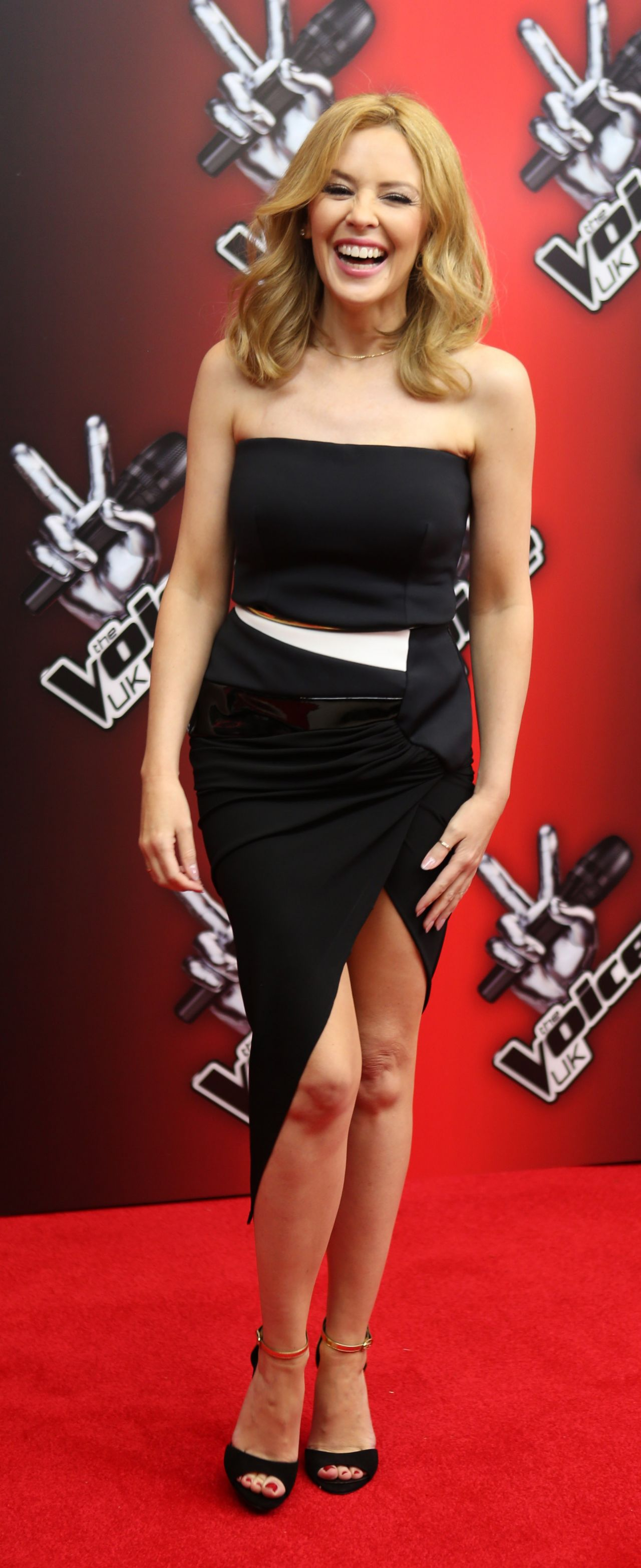 Kylie Minogue The Voice Uk Launch London January 6 2013