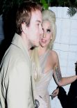 Lady Gaga Nigh Out Style - Chateau Marmont, Pre Grammy 2014 Party