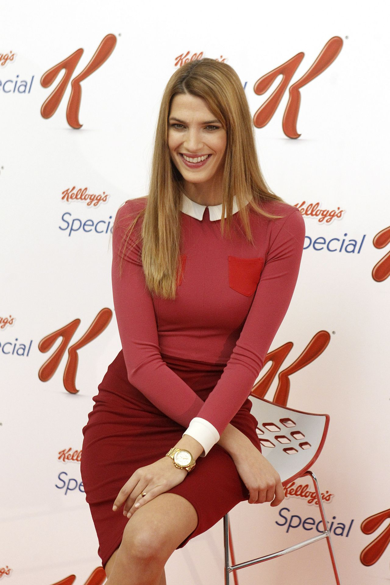 Laura Sanchez Photocall For Special K Research Madrid