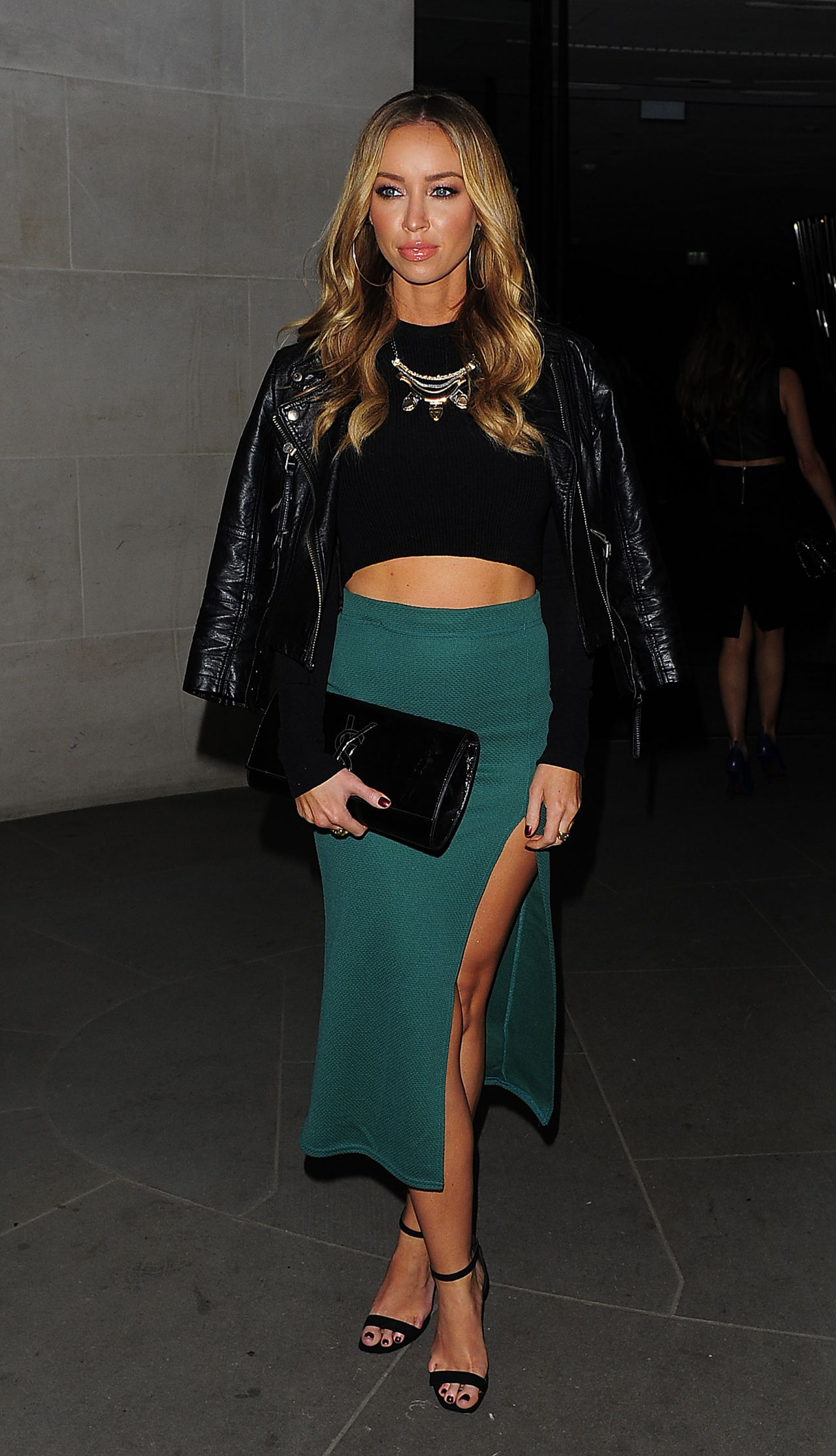 Lauren Pope Leaves ME Hotel in Central London